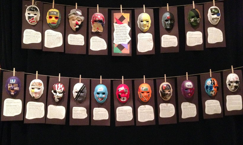masks-on-display